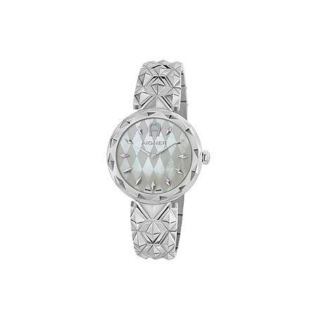 Aigner  Damen Damenuhr Prato II Silber, in Silber