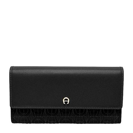 Aigner  Damen Schein- und Kartentaschen, in Schwarz, Einheitsgröße schwarz
