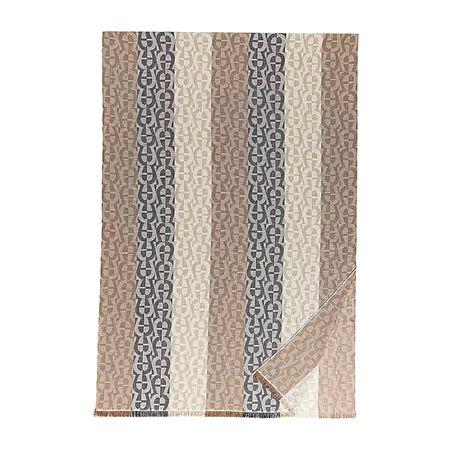 Aigner  Damen Stola M mit A-Logo, Baumwollmischung in Braun, Einheitsgröße braun
