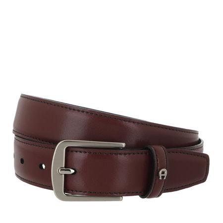 Aigner  Gürtel - Belt - in rot - für Damen braun