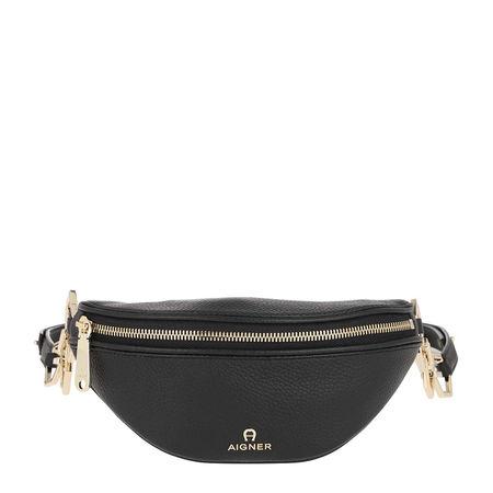 Aigner  Gürteltasche  -  Serena S Beltbag Black  - in schwarz  -  Gürteltasche für Damen grau