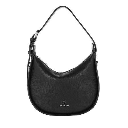 Aigner  Hobo Bag - Handle Bag - in schwarz - für Damen schwarz