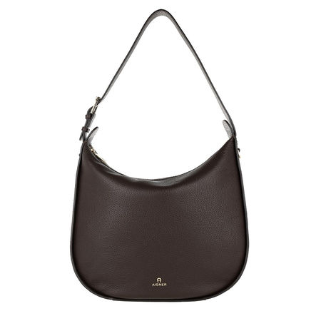 Aigner  Hobo Bag - Ivy Hobo Bag - in braun - für Damen grau