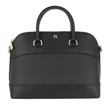 Aigner  Satchel Bag - Adria Handle Bag - in schwarz - für Damen grau