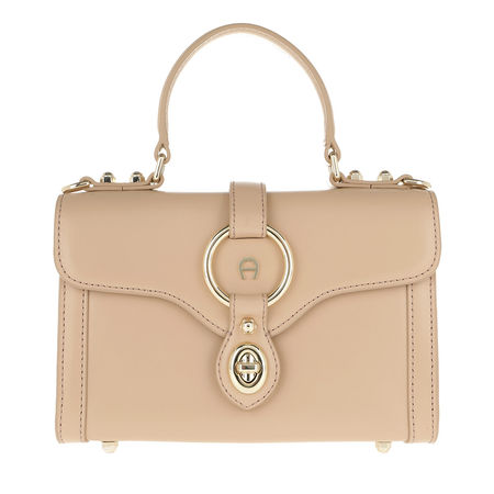 Aigner  Satchel Bag  -  Fiorentina XS Crossbody Bag Nougat  - in beige  -  Satchel Bag für Damen braun