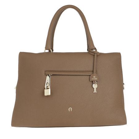 Aigner  Satchel Bag  -  Kaia Cedar Brown  - in braun  -  Satchel Bag für Damen braun