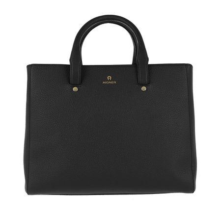Aigner  Tote  -  Ivy Handle Bag Black  - in schwarz  -  Tote für Damen schwarz