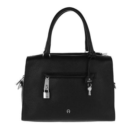 Aigner  Tote  -  Kaia M Handle Bag Black  - in schwarz  -  Tote für Damen schwarz
