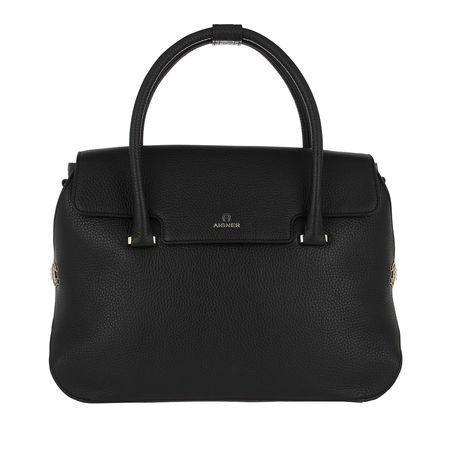 Aigner  Tote - Milano Handle Bag - in schwarz - für Damen schwarz