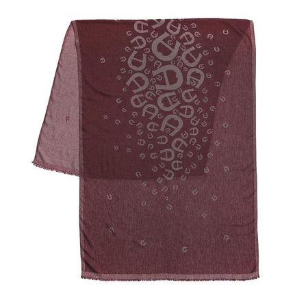 Aigner  Tücher & Schals - Scarf 70 x 180 cm - in bordeaux - für Damen braun