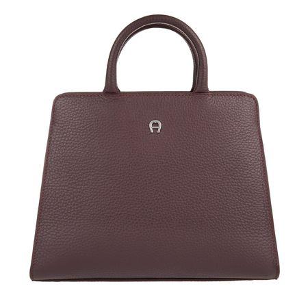 Aigner  Umhängetasche  -  Cybill Mini Bag Burgundy  - in lila  -  Umhängetasche für Damen braun