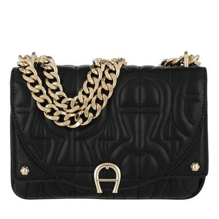 Aigner  Umhängetasche  -  Diadora Crossbody Bag Black  - in schwarz  -  Umhängetasche für Damen schwarz