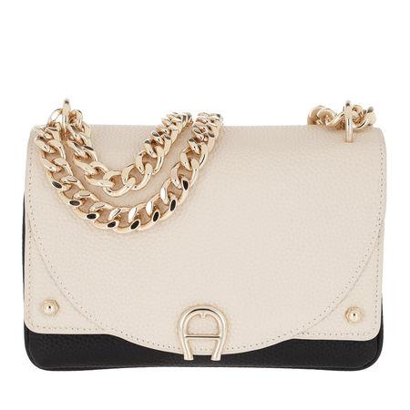 Aigner  Umhängetasche  -  Diadora Crossbody Bag Mini Antique White  - in schwarz  -  Umhängetasche für Damen braun