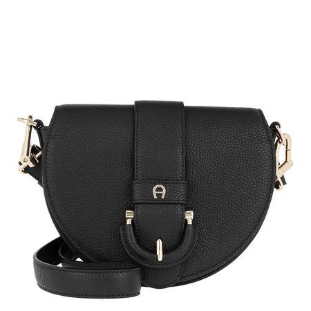 Aigner  Umhängetasche  -  Kira S Crossbody Bag Black  - in schwarz  -  Umhängetasche für Damen grau