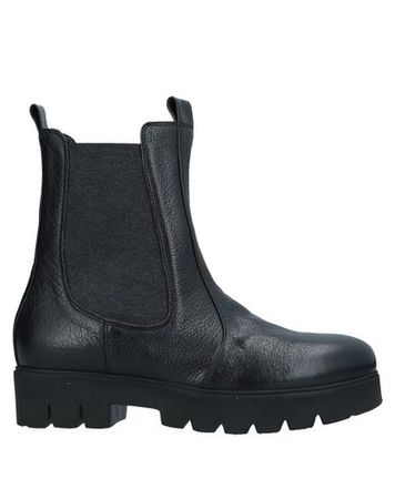 Alberto Fermani  Damen Schwarz Stiefelette Leder schwarz