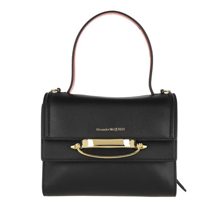 Alexander McQueen  Satchel Bag - The Story Satchel Bag Leather - in black - für Damen schwarz