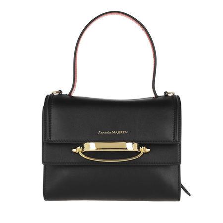 Alexander McQueen  Satchel Bag - The Story Satchel Bag Leather - in schwarz - für Damen schwarz