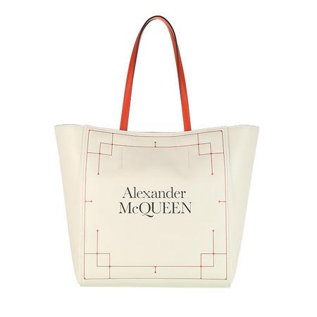 Alexander McQueen  Shopper - Signature Shopping Bag - in beige - für Damen braun