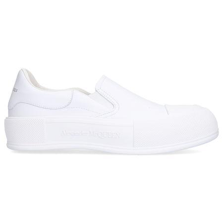 Alexander McQueen Sneaker low DECK PIMSOLL Kalbsleder