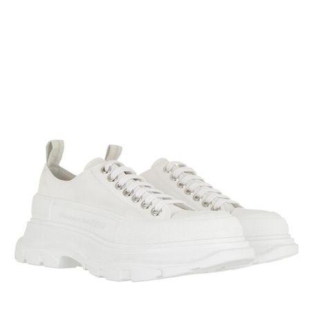 Alexander McQueen  Sneakers - Tread Slick Lace Up Sneakers - in white - für Damen