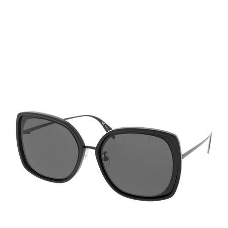 Alexander McQueen  Sonnenbrille  -  AM0151S 57 001  - in schwarz  -  Sonnenbrille für Damen grau