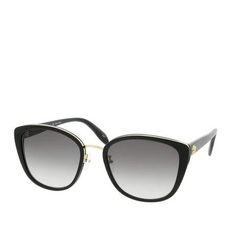 Alexander McQueen  Sonnenbrille  -  AM0186SK 56 001  - in schwarz  -  Sonnenbrille für Damen grau