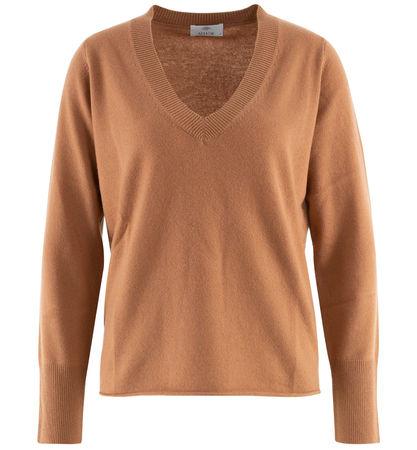 ALLUDE CASHMERE Allude - Pullover aus Cashmere braun
