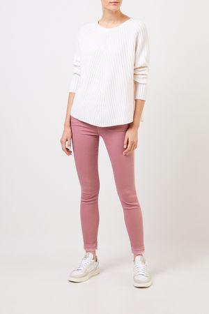 ALLUDE CASHMERE Allude - Woll-Cashmere-Pullover Weiß