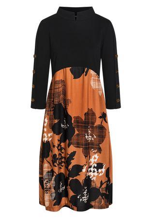 Ana Alcazar  A-Linien-Kleid Bapte schwarz