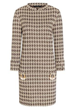 Ana Alcazar  A-Linien-Kleid Beipy braun