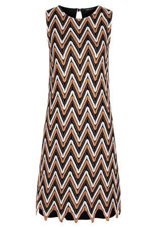 Ana Alcazar  A-Linien-Kleid Ceresa braun