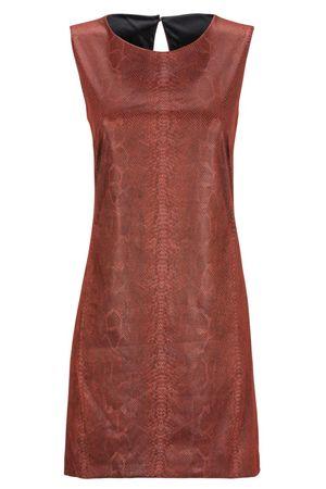 Ana Alcazar  A-Linien Kleid Devona braun