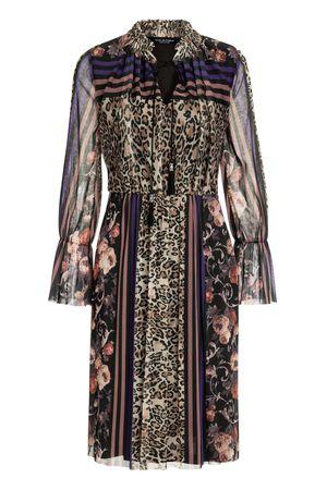 Ana Alcazar  Romantik Kleid Vormaly grau