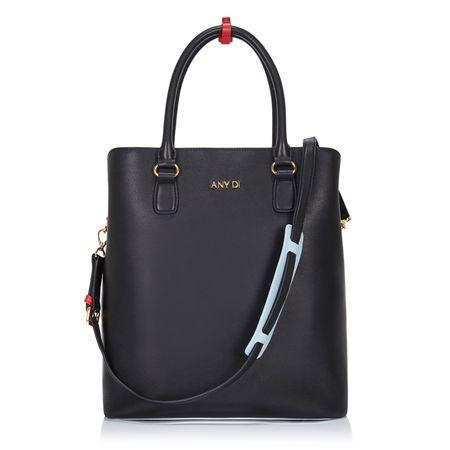 Any Di Bag L,  in Black Red grau