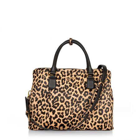 Any Di Bag M,  in Leo Fur braun