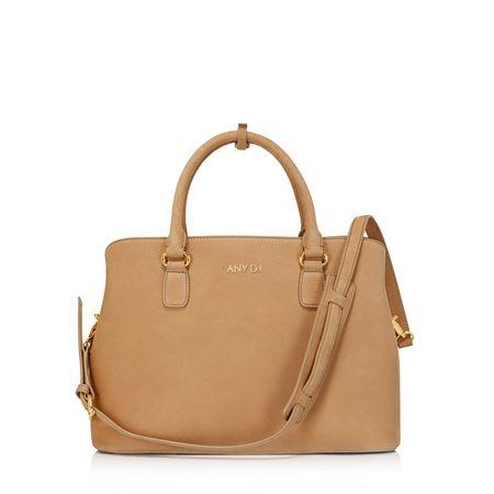 Any Di Bag M,  in Light Brown Leo orange