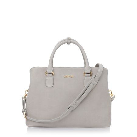 Any Di Bag M,  in Light Grey Nubuck grau