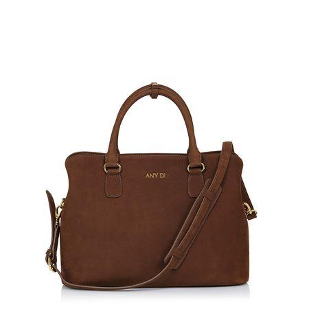 Any Di Bag M,  in Tiramisu braun