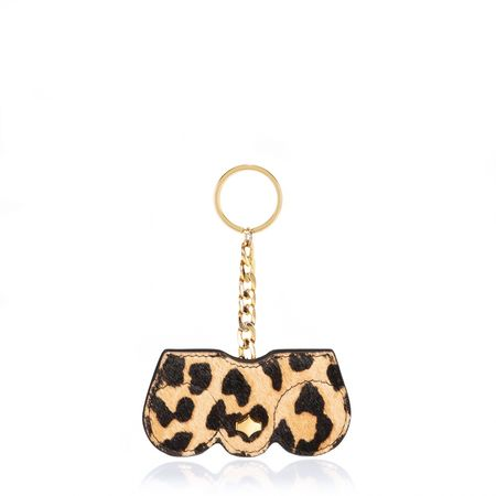 Any Di KeyChain, Kette in Leo Fur orange