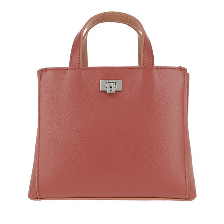 COCCINELLE  Tote  -  Tahlia Soft Small Tote Bourgogne/Argil  - in orange  -  Tote für Damen rot