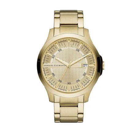 ARMANI  Exchange Uhren - Men Watch - in gold - für Damen orange