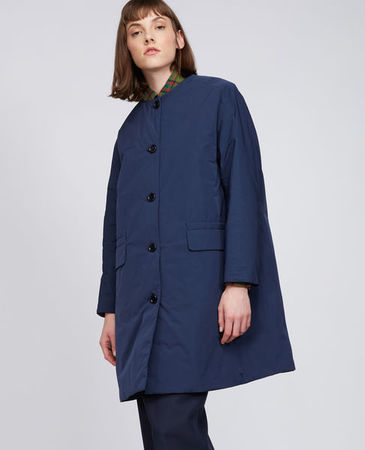 Aspesi  Mantel Aguglia Damen | Blau grau