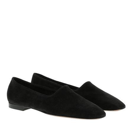 ATP Atelier  Schuhe  -  Andrano Suede Loafers Black  - in schwarz  -  Schuhe für Damen schwarz