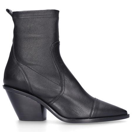 Attilio Giusti Leombruni Klassische Stiefeletten D239530 Kalbsleder schwarz grau