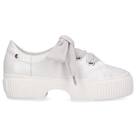 Attilio Giusti Leombruni Sneaker low 925095 Lackleder weiß grau