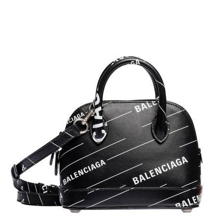 Balenciaga ® - Handtasche aus Leder in Schwarz für Damen, Größe UNI schwarz