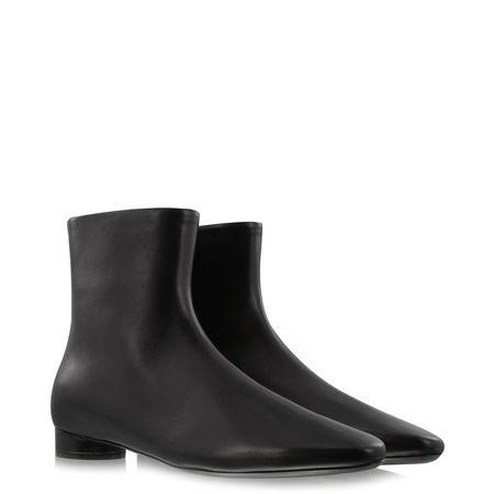 Balenciaga  - Ankle Boots Oval aus Leder schwarz