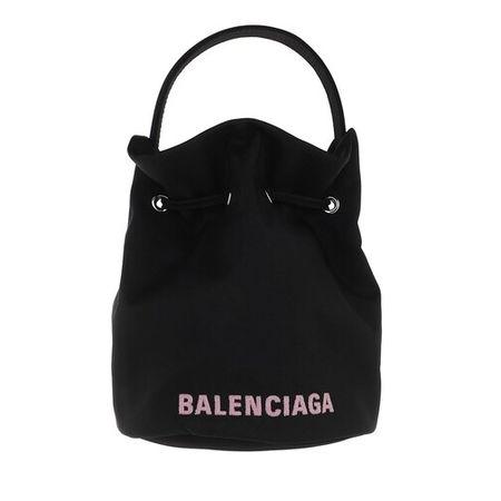 Balenciaga  Beuteltasche - Wheel XS Bucket Bag - in black - für Damen