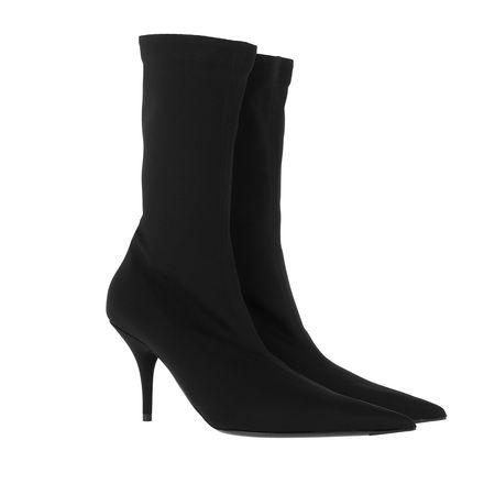Balenciaga  Boots  -  Jersey Crepe Ankle Boots Black  - in schwarz  -  Boots für Damen schwarz