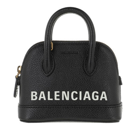 Balenciaga  Bowling Bag - Mini Top Handle Bag Leather - in schwarz - für Damen schwarz